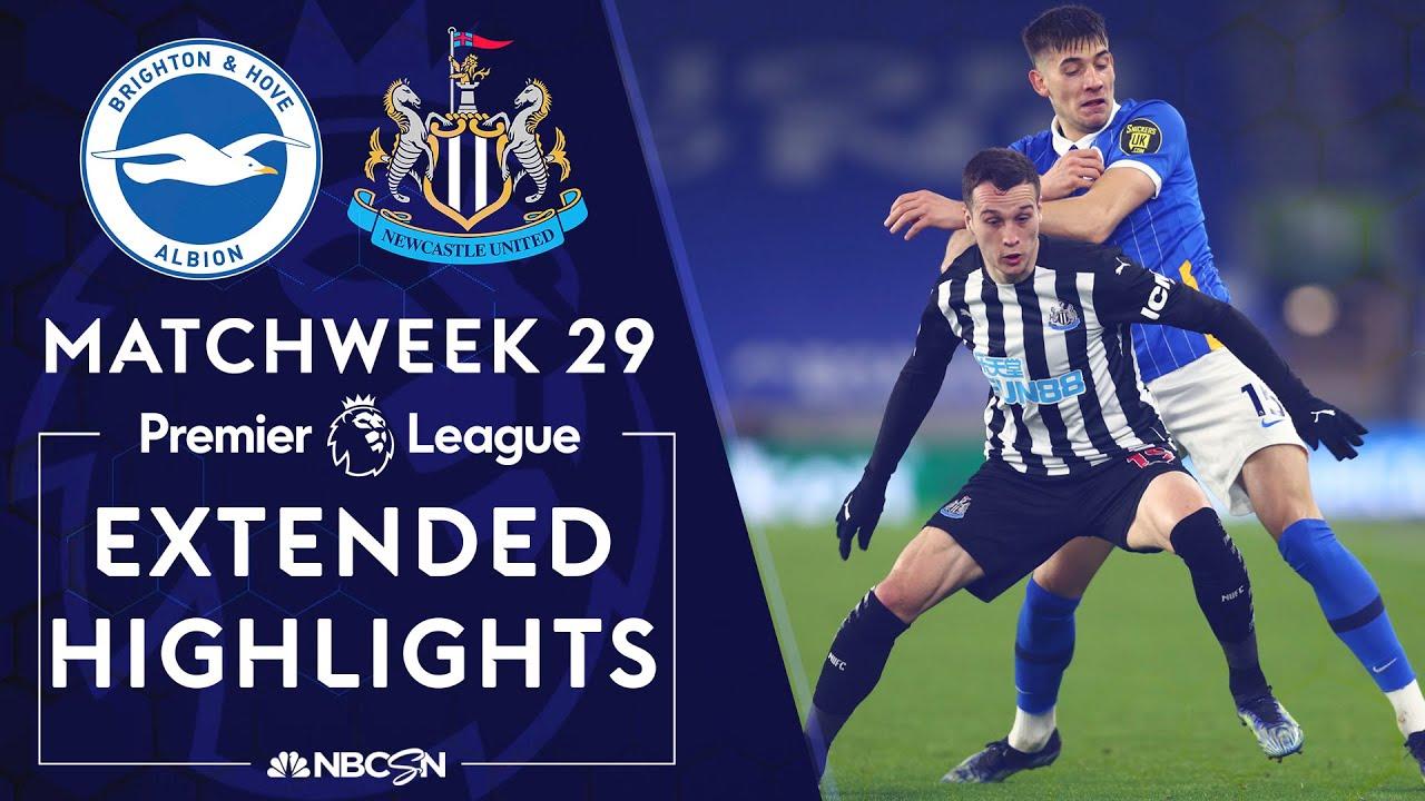 Brighton v. Newcastle | PREMIER LEAGUE HIGHLIGHTS | 3/20/2021 | NBC Sports