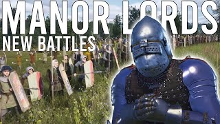 NEW BATTLES And FORMATIONS In Manor Lords