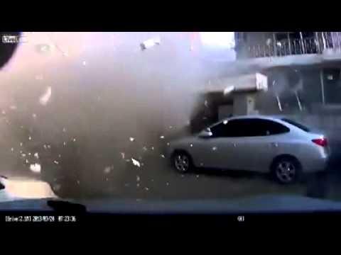 LPG gas Cylinder or bomb Blast