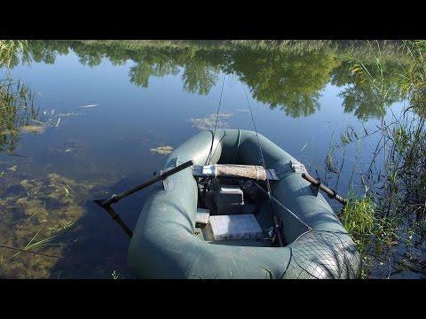 видео на рыбалке лодка без дна
