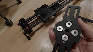 DJI Ronin S PS4 Controller and universal base mount