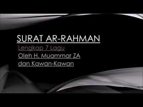 H. Muammar ZA Lengkap Dengan 7 Lagu Qiroat