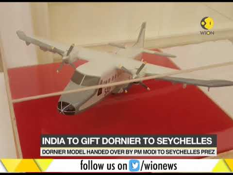 India to gift a Dornier Aircraft to Seychelles President Danny Faure