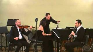 """Otar Tatishvili-""""BATS""""-trio for clarinet,violin & piano.2015 05.03."""