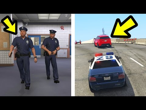 WHAT HAPPENS IF YOU FOLLOW THE POLICE? (GTA 5)