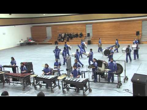 2015 Belleville East Winter Drumline at Francis Howell North High School