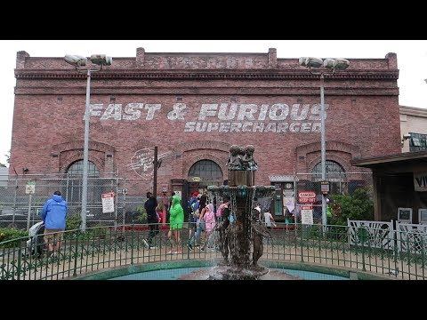 Fast & Furious: Supercharged Soft Opening At Universal Studios!
