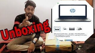 HP i3 6th gen (4gb/1tb/2gb graphic),unboxing