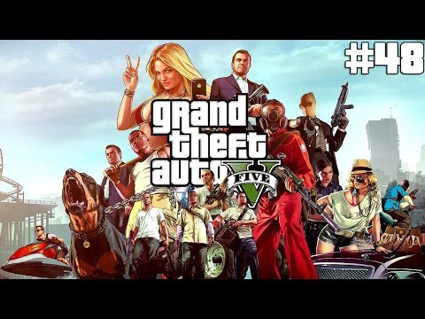 Grand Theft Auto 5-Walkthrough Part 48-Mission#47-The Bureau Raid