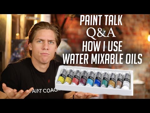 PAINT TALK: Grids, Cleaning, Copying, Dry Time, Water Mixable Oils
