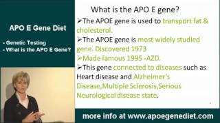 Apo E Gene's connection with Alzheimer's Disease, Heart Disease and more