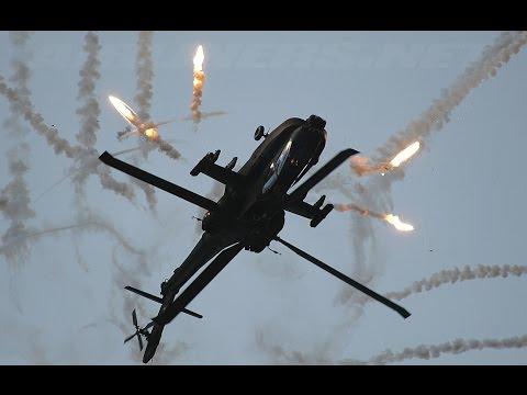 Apache AH64D и мертвая петля
