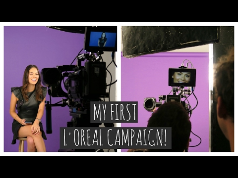 I'M IN A L'OREAL CAMPAIGN?! | Beauty's Big Sister