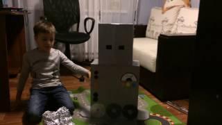 как сделать костюм робота своими руками в домашних условиях