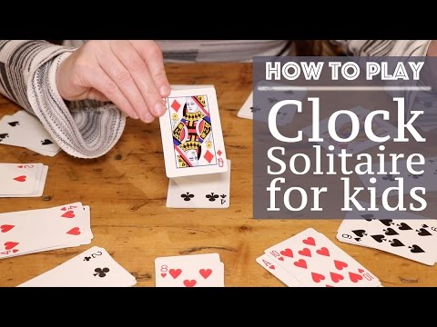 How to play clock patience: 11 steps (with pictures) wikihow.