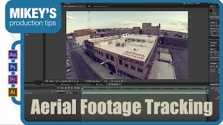 Tracking Wide Angle Drone Footage