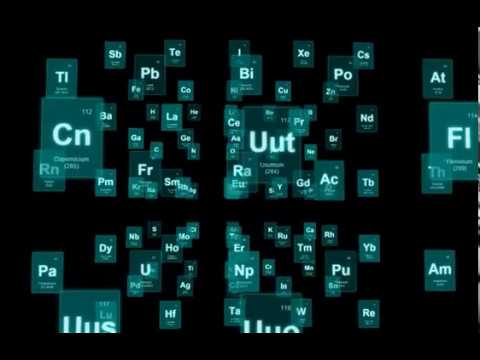 3d Periodic Table Youtube