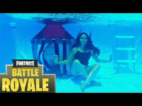 Real Life UNDERWATER Fortnite Battle Royale !!!