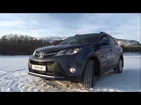 Nye Toyota Rav4 - Finnmarksløpet - Altaelva - Sorrisniva 2013