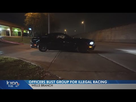15 arrested in Wells Branch street racing sting operation