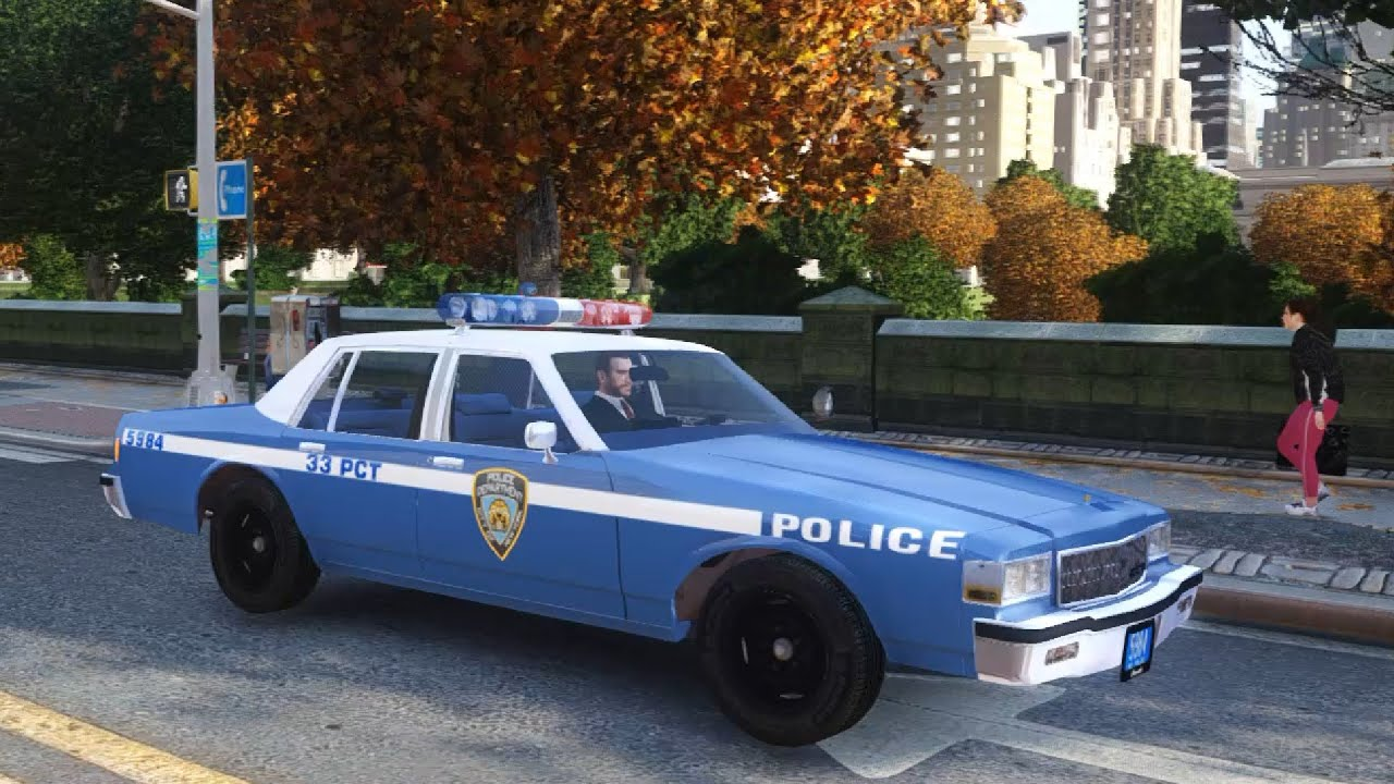 New Caprice Cop Car