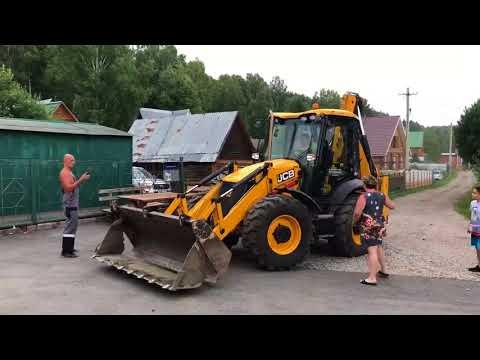 Разборки с трактором в Новокузнецком районе