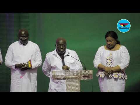 Akufo-Addo's full speech at NPP National Thanksgiving Service