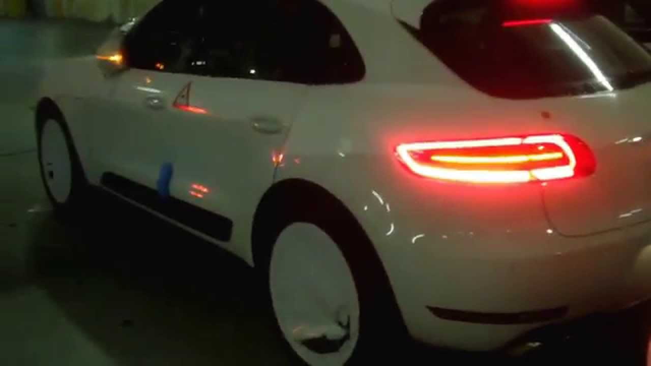Led Headlight Conversion Kit >> PORSCHE MACAN S TURBO - YouTube