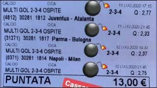 SUPER VINCITA SCOMESSE CALCIO DEL TOP SEGRET💣