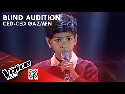 Ced - ced Gazmen - She's Gone | Blind Auditions | The Voice Kids Philippines Season 4