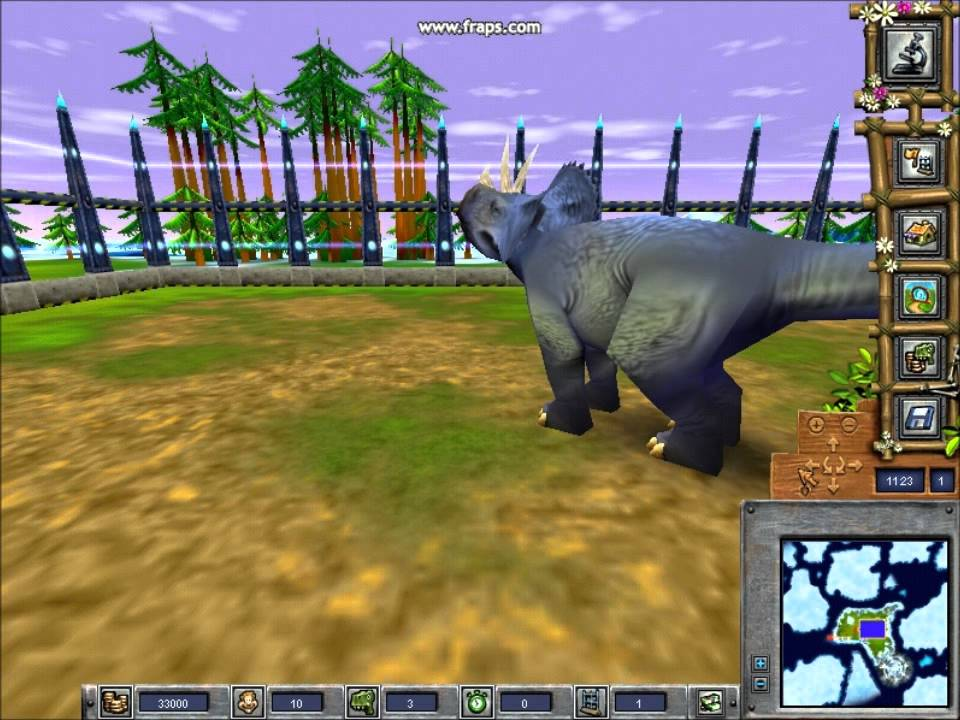 Dino Island Fact Files-Triceratops - YouTube