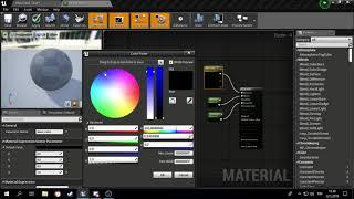 Unreal Engine 4 Värien teko