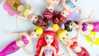 Ariel Little Mermaid Sisters Dolls Disney Princess Toys