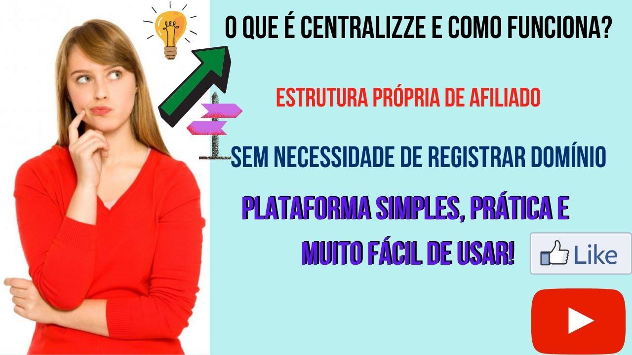 centralizze plataforma