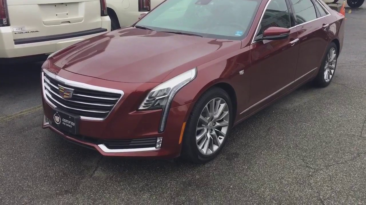 2016 cadillac ct6 with only 11k miles for sale in ny near ct nj pa youtube. Black Bedroom Furniture Sets. Home Design Ideas