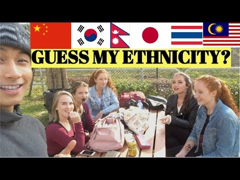 GUESS MY NATIONALITY? - YouTube