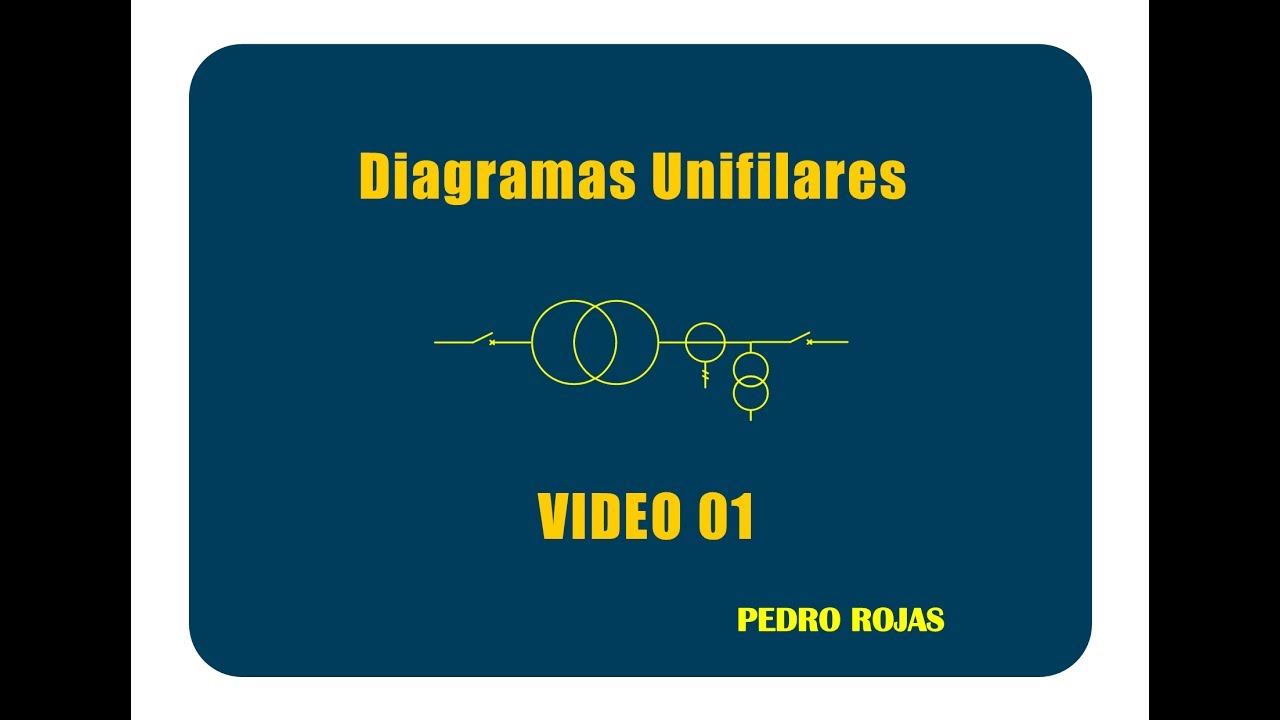 Circuito Unilineal : Diseño de diagramas unifilares video 01 youtube