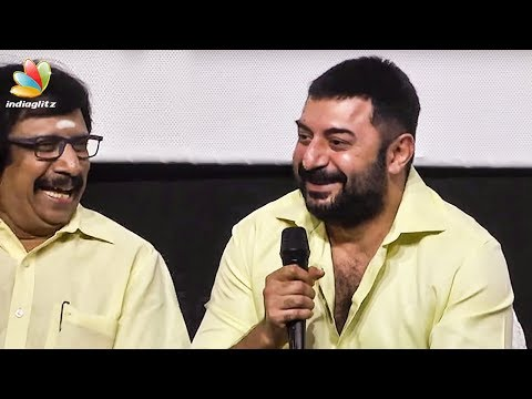 Arvind Swamy Funny Reply about Political...