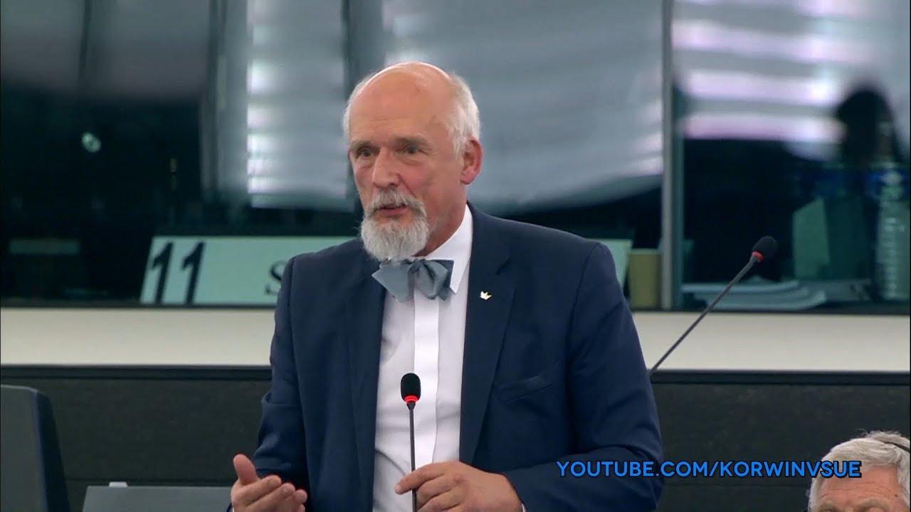 Pytanie Janusza Korwin-Mikkego do Marka Jurka o symbole komunistyczne 13.12.2017