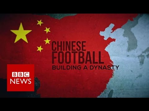 Inside China's football factory - BBC News