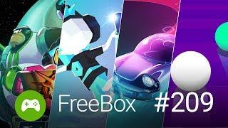 Skvělé hry zdarma: FreeBox #209 - Barevná jízda