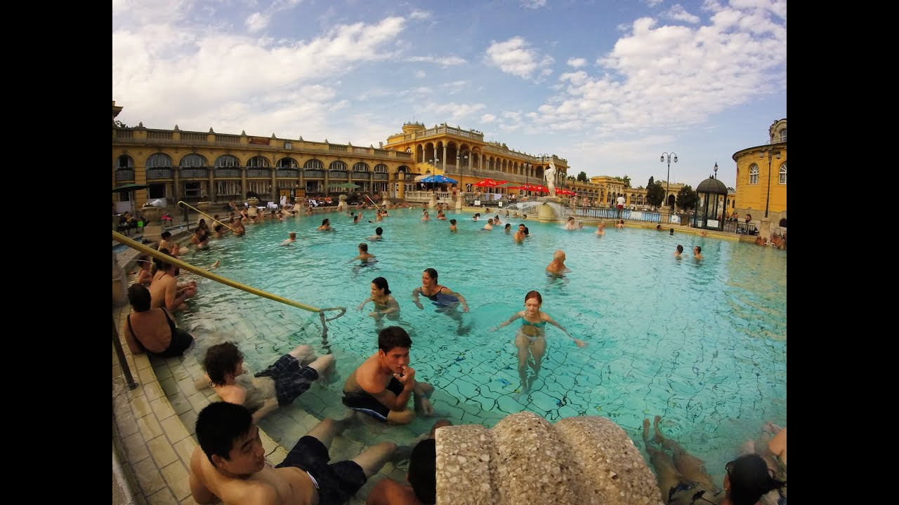 Visiting the Széchenyi Baths in Budapest - YouTube