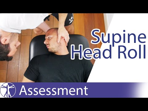 Supine Head Roll Test | Lateral BPPV