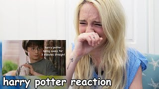 try not to laugh at Harry Potter being sASSy challenge (I literally cried)
