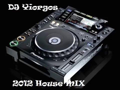 DJ YIORGOS 2012 HOUSE MIX