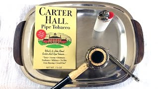 "OTC Pipe Tobacco Review: ""Carter Hall"""