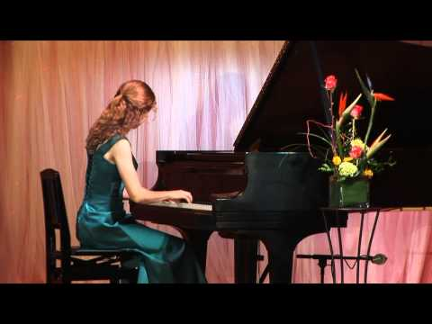 Leanne Schmidt performs Paderewski Minuet in G, Op. 14, No. 1