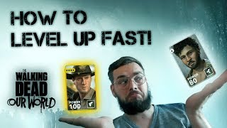 Video How to level up FAST! In The Walking Dead: Our World download MP3, 3GP, MP4, WEBM, AVI, FLV Juli 2018