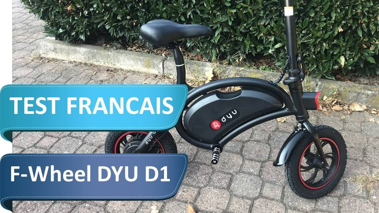Test Fr du F-Wheel DYU D1, la draisienne électrique ultra sympa (pour adultes)