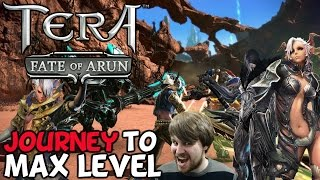 TERA: Journey To Level Cap Episode 3 'Big Ass Monsters Are Awesome!'
